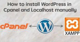 چۆنییەتی دامەزراندنی wordpress لەسەر cpanel